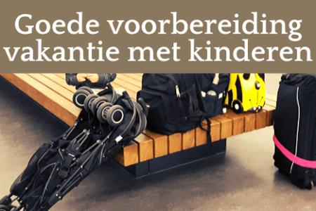 koffers en tassen op P3 Schiphol