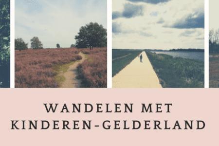 wandeltips met kinderen in provincie gelderland