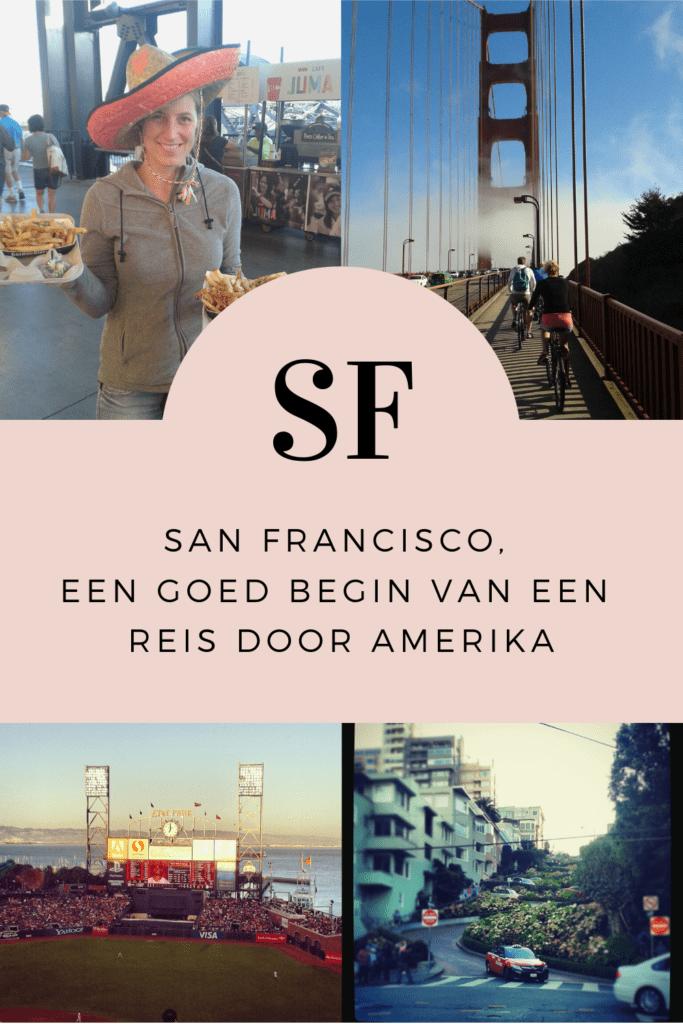 Genoeg te zien en te doen in San Francisco. Een goede conditie is belangrijk. Want zo zie je het meeste terwijl je ook kan eten als een Amerikaan :). Lees onze tips in deze blog.