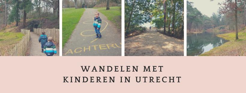 wandeltips in provincie Utrecht voor het hele gezin. Bos en stadspark.